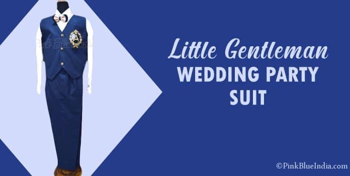 Little Gentleman Wedding Party Suit