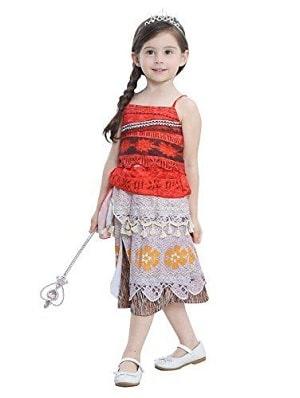 Moana Disney Princess Girls Fancy Dress Costume India
