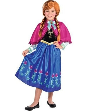 Toddler and Baby Princess Anna Costume