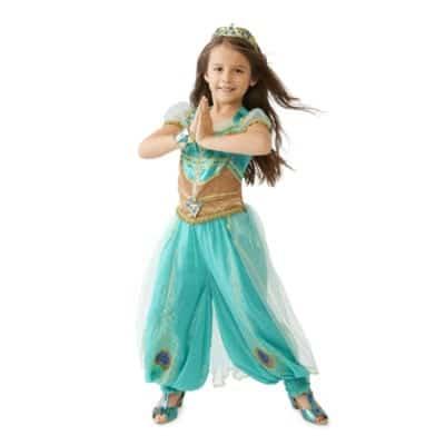 Girl Princess Jasmine Dress Costume