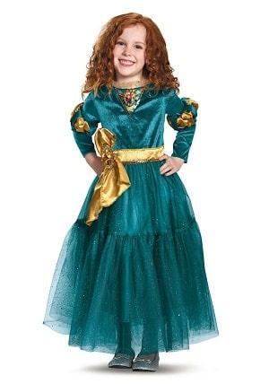Disney Princess Merida Fancy Dress Costume