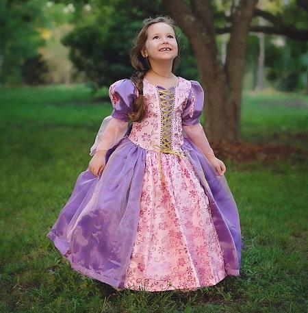 Toddler Tangled Dress Up, Princess Costume