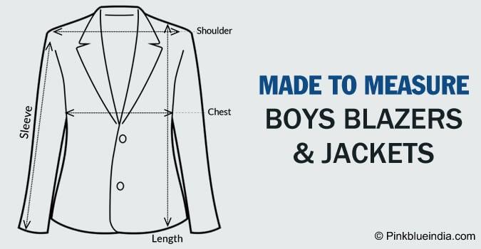 Made to Measure Boys Blazer, custom made Jacket