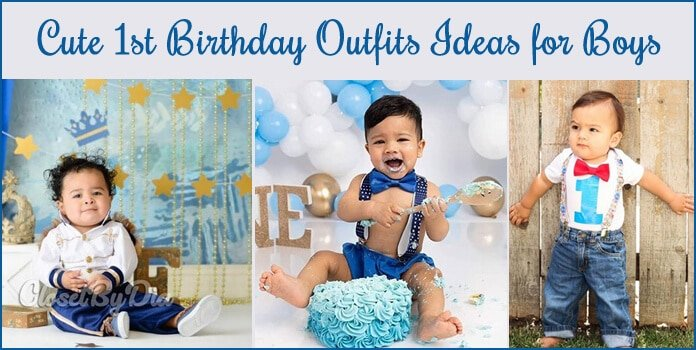 Cute 1st Birthday Party Boy Outfits
