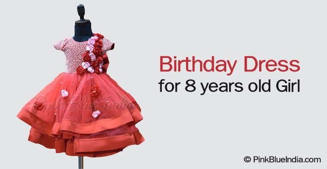 Birthday Dress for 8 years old Girl