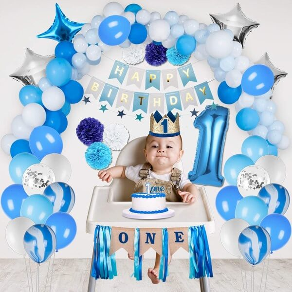 Birthday Party Themed Accessories for Baby Boy