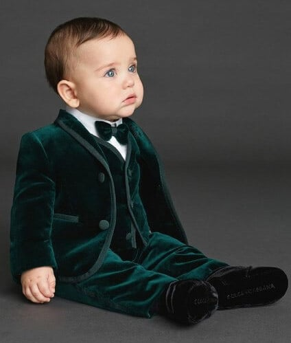 Cute Birthday Party Suit for Baby Boy