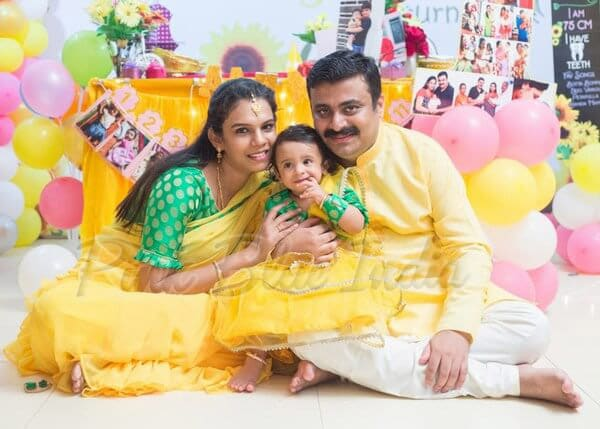 Indian Family Dress Set for Birthday Party Online