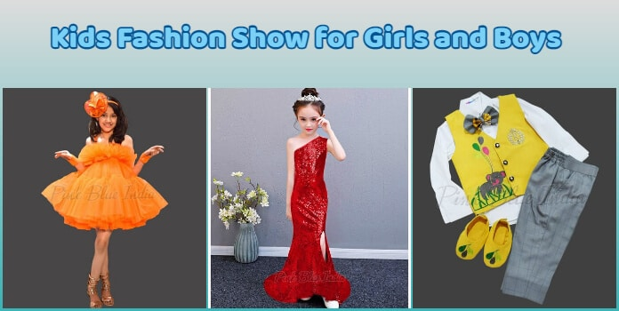 Kids Fashion Show Dress for Girls and Boys