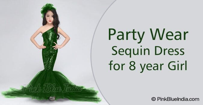 Sequin party dress for girls