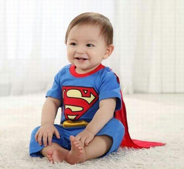 kids and Baby Superhero Costume Ideas