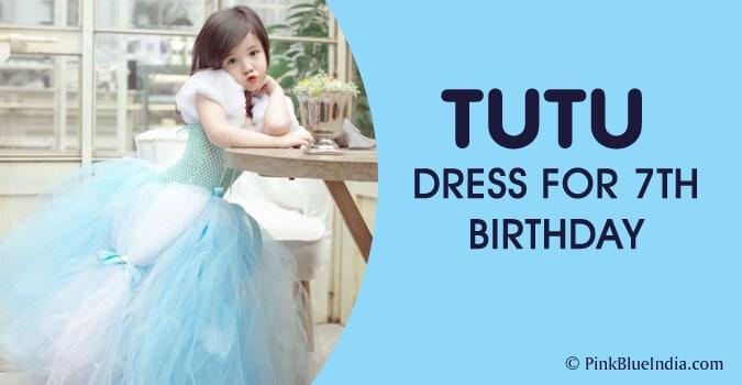 Tutu Dress for 7th Birthday Party