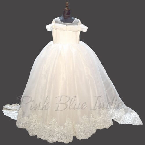 Birthday Party Ball Gown for 9 Years Girl Dress