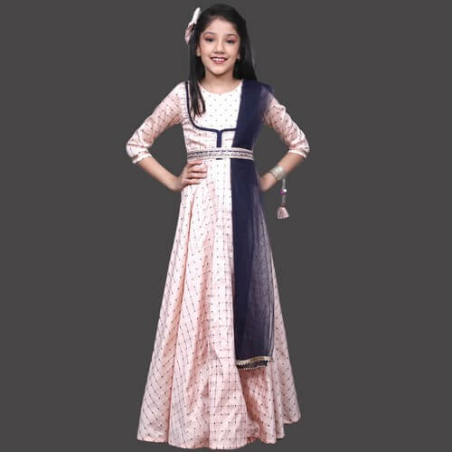 9 Year Gowns for Girls - Buy Indian Kids Gown Online