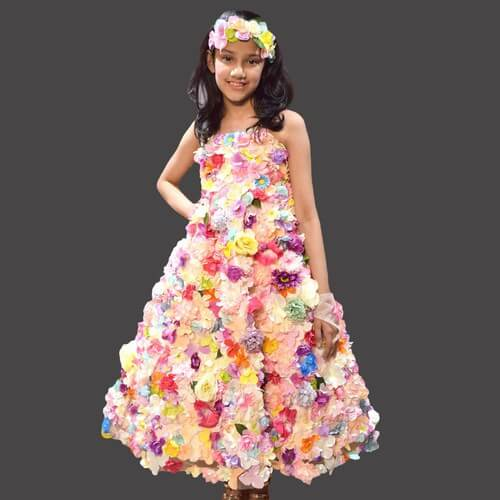 9 year old flower girl dress online India