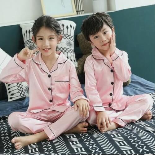 Twins Baby Girl Boy Pyjama Set, Night Suit online India