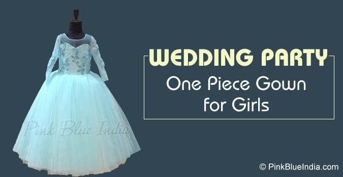 Wedding One Piece Dress/Frock 10 Year Girl