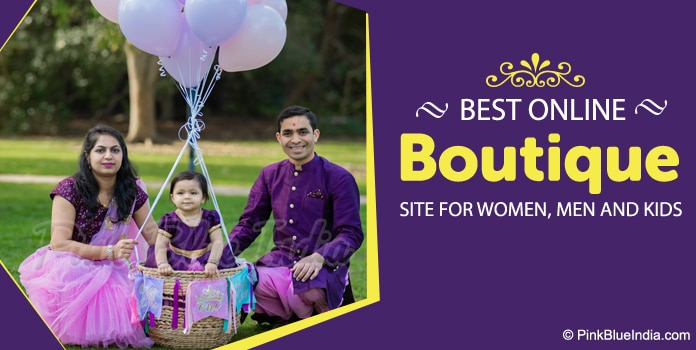 Online Boutique Designer Clothing Women, Men, Kids Fashion India