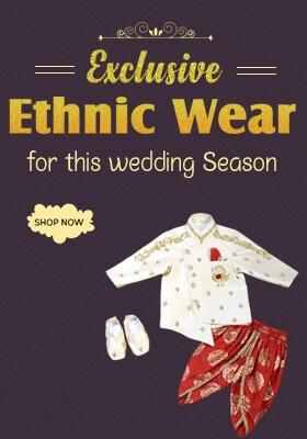indian wedding dress for boys kids