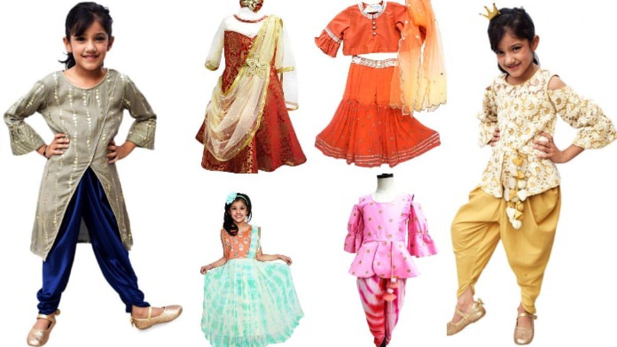 stylish indo western dress for girls,