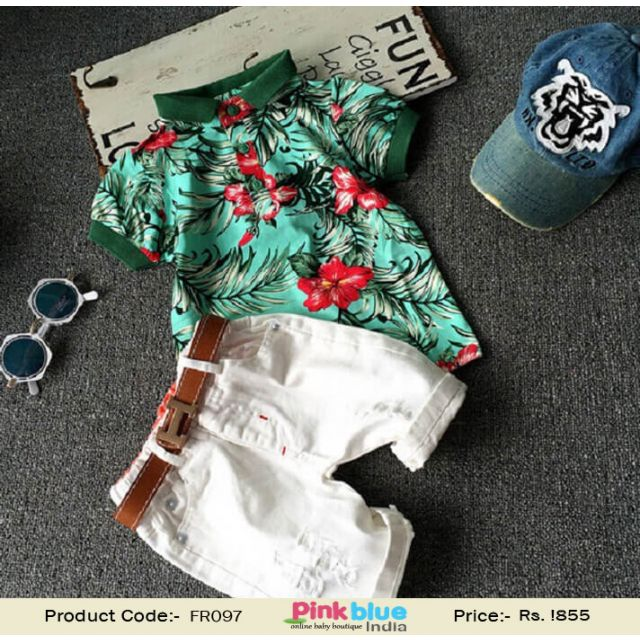 baby boys summer outfit