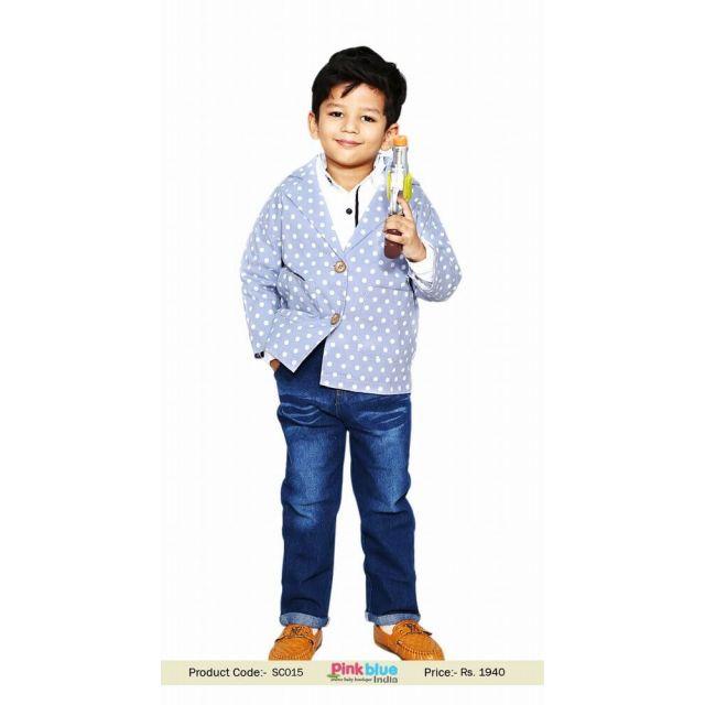Kids Boy Blazer Jacket Online india