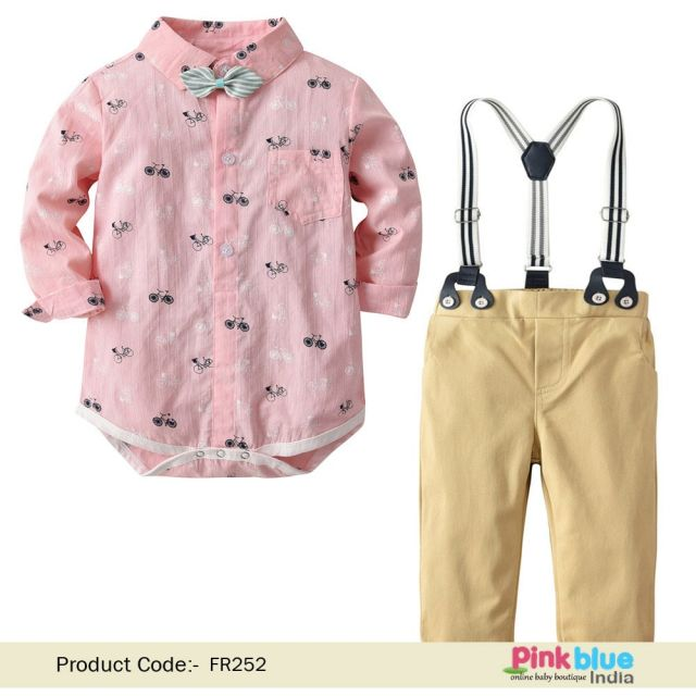 boys party wear Dress - first birthday outfit baby Boy Online India
