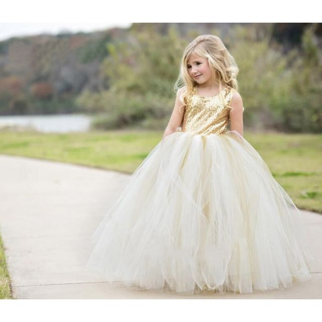 Fairytale Princess Dresses - Baby Girl Birthday Gown - toddlers party Dress