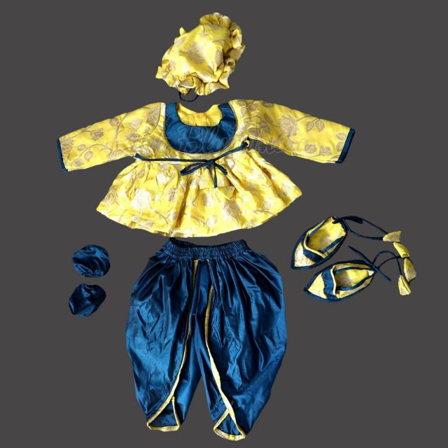 Baby Boy Jamna Dress, Indian Baby Shower Dress, Newborn Boy Naming ceremony dress