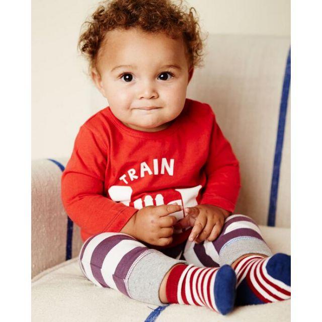 baby tee pajama set