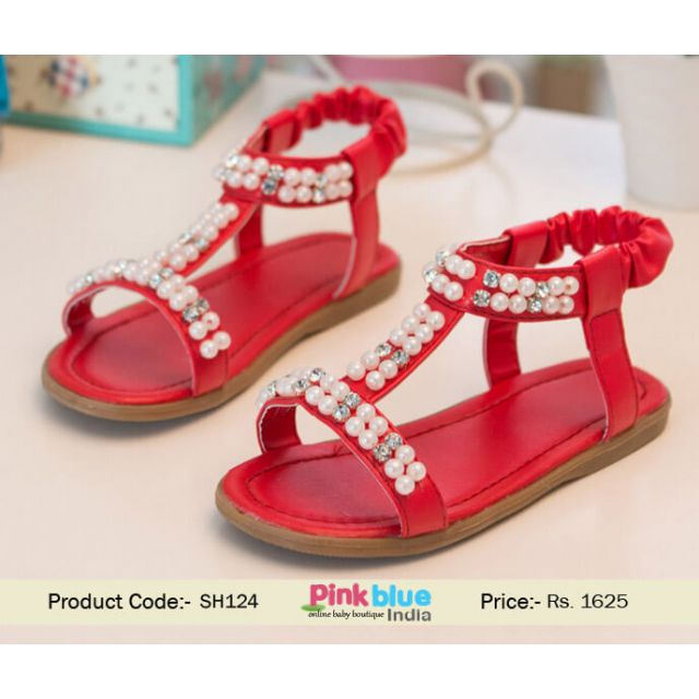 red princess sandal