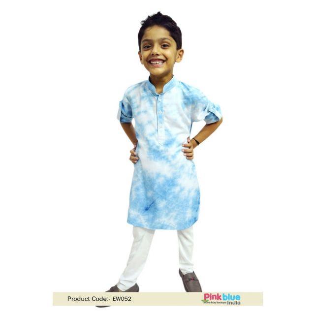 Cotton Boys Kurta Pajama, Latest Designs Children Kurta Pajama 4-6-Year-Old Ethnic Wear