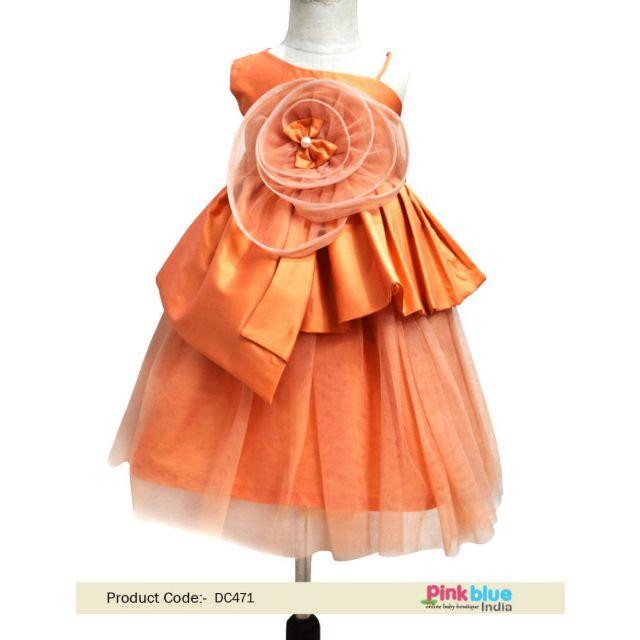 Flower Girl Birthday Dress – Buy Kids Outfit Online - Baby birthday dress