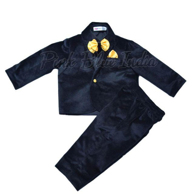 Buy Velvet Suit & Blazer - Indian Baby Boy Clothing Online