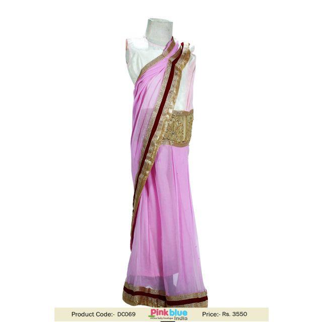 georgette saree dress