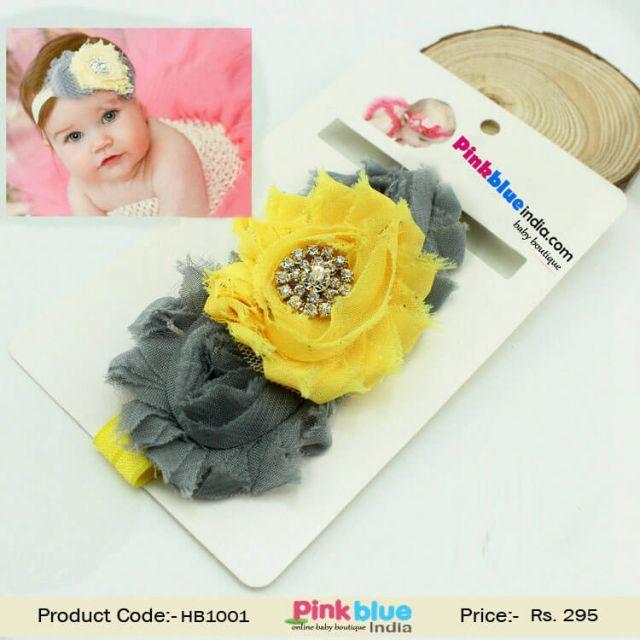 Designer Kids Flower Headband for Baby Girl