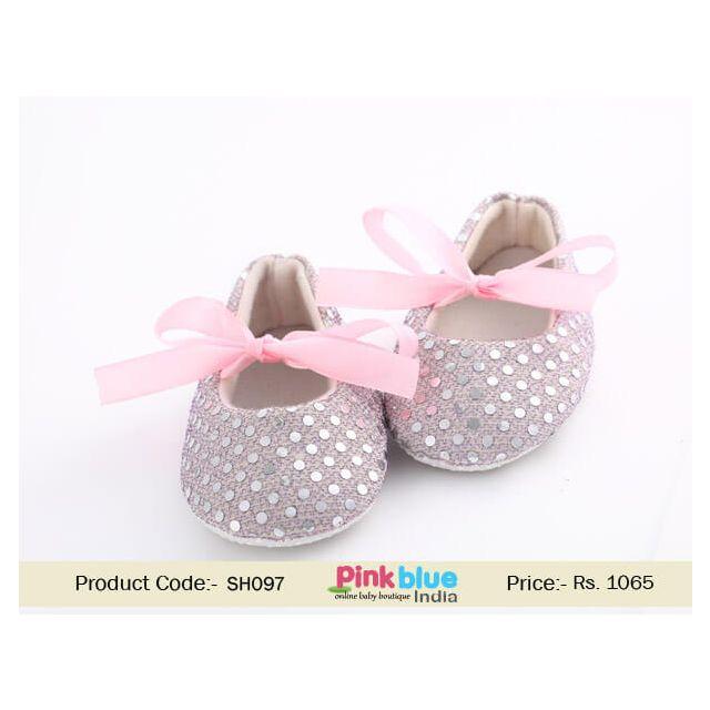 baby wedding shoes