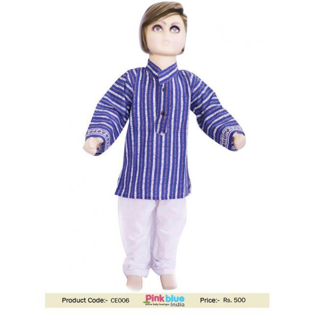 boys ethnic coton wear