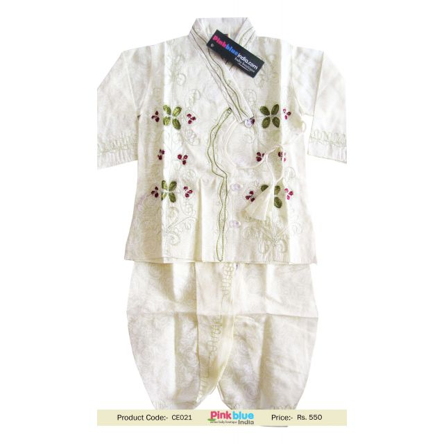 kids embroided ethnic outfit