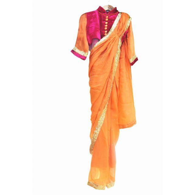 traditional saree dress