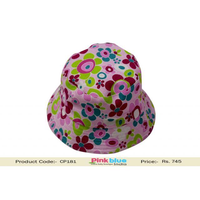printed baby summer hat