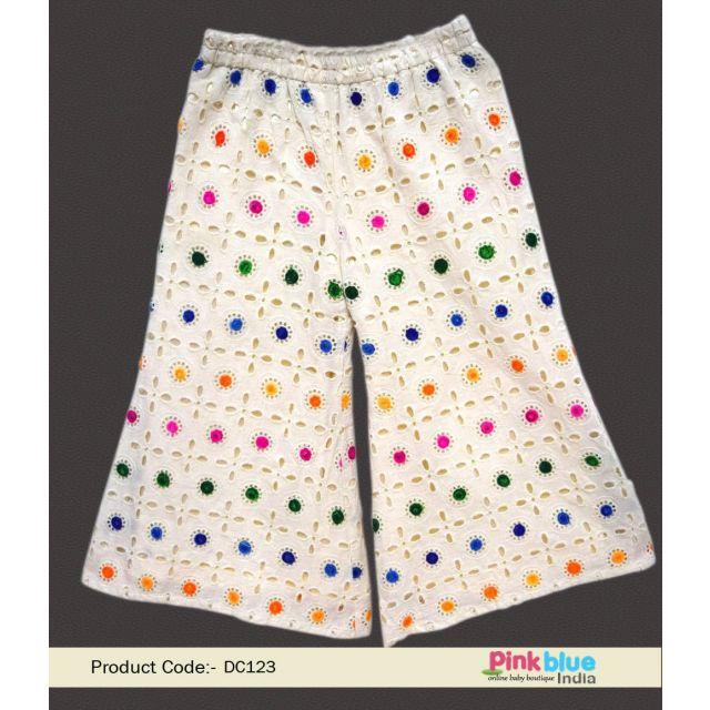 Baby Girl Palazzo dress – Kids Palazzo Pants - child palazzo trousers Online India