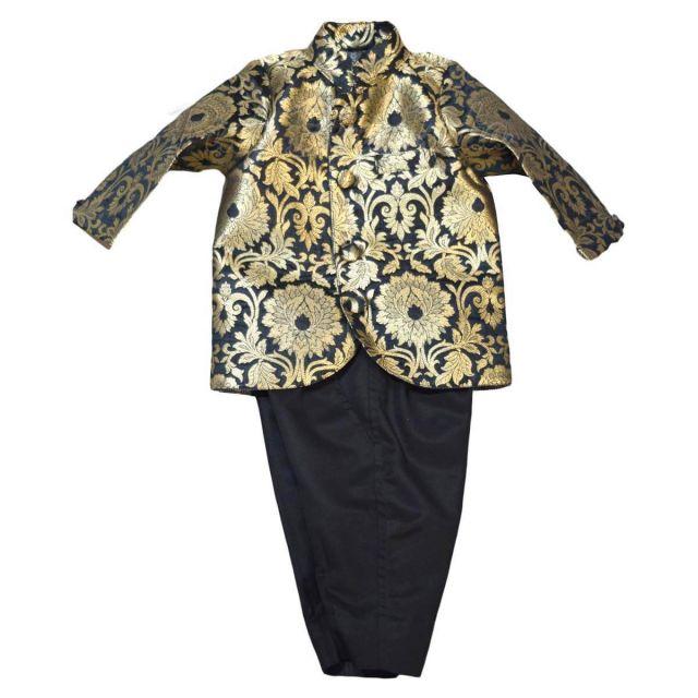 Boys Jodhpuri Suit with Pant - Designer Bandhgala Suit for Kids