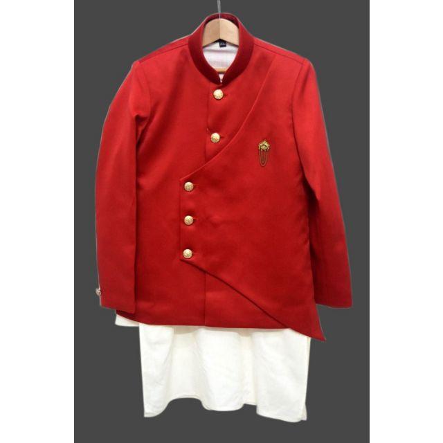 Kids Royal kurta pajama and Red Jacket, Baby Boy Kurta pajama Set