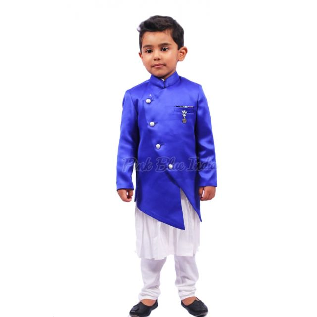 Baby Boy Kurta Pajama, Cross Button Style Kurta for kids