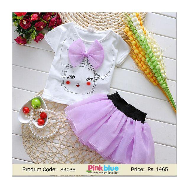little girl birthday skirt