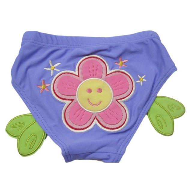 Toddler Boy Swim Trunks Shorts Lavender Flower Baby Boys Beachwear
