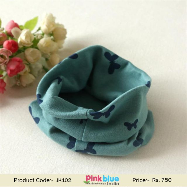 Toddler Cowls and Neck Warmers Butterfly Patterns - Baby Circle Scarf