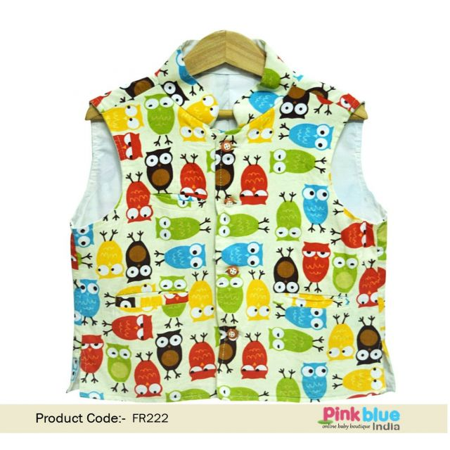 Newborn Baby Party Waistcoat, Children Occasion Wear Nehru Jacket, Boys Waistcoat Online
