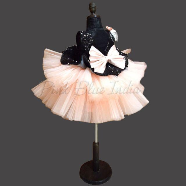 Buy Peplum Frock - Baby Girl Peplum Party Wear Frock